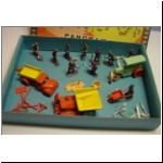 "Charbens ""Panorama Series"" gift set with metal vehicles and plastic figures"